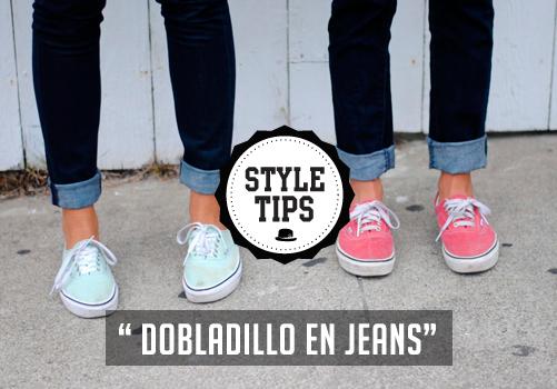7144c53ea9 Style Tips dobladillo en Jeans