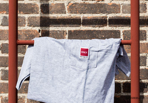 messenger pocket tee